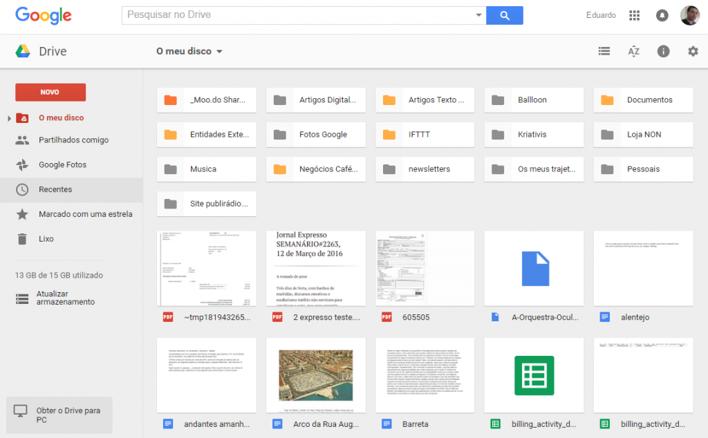 Google Drive - Cafépreto.net